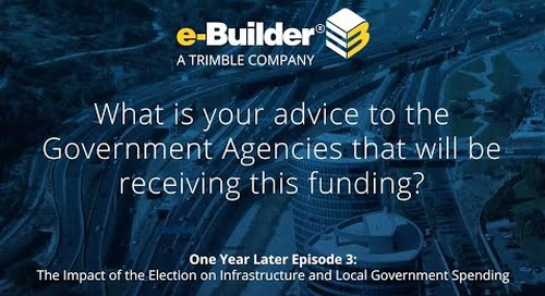 What is your advice to the Government Agencies that will be receiving this funding?