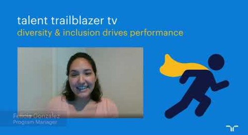 workplace diversity & inclusion drive performance | talent trailblazer tv.