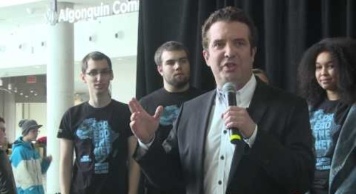 Rick Mercer Spread the Net Rally