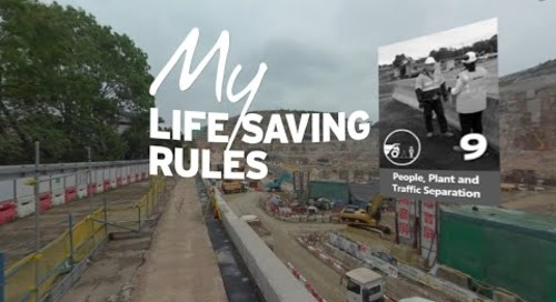 People, Plant and Traffic Separation [Mobile] –  Intro to My Life Saving Rules in 360