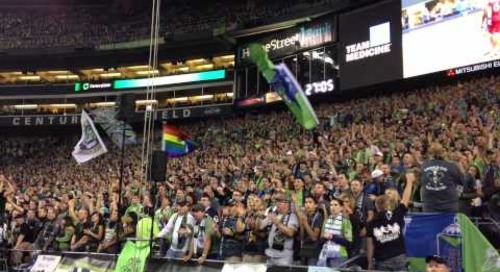 Behind the Scenes of C-Suite - Seattle Sounders Fans