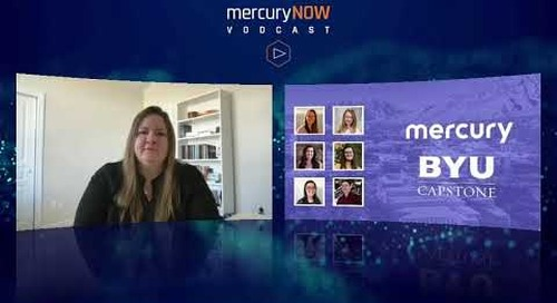 Learn how Mercury is helping close the gender gap by supporting women in STEM.