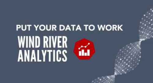 Wind River Analytics Overview