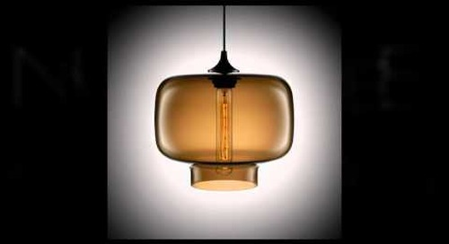Modern Glass Pendant Lighting by Niche