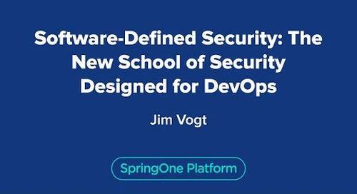 Software-Defined Security: The New School of Security Designed for DevOps