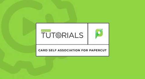 Card Self Association for PaperCut