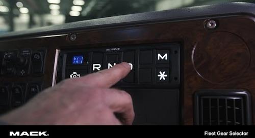 mDRIVE Fleet Gear Selector