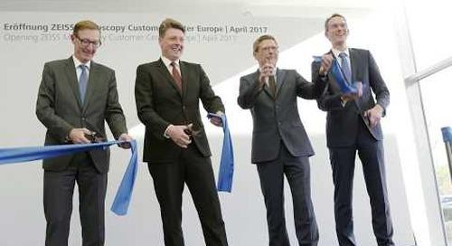 ZEISS Microscopy Customer Center Europe Opening