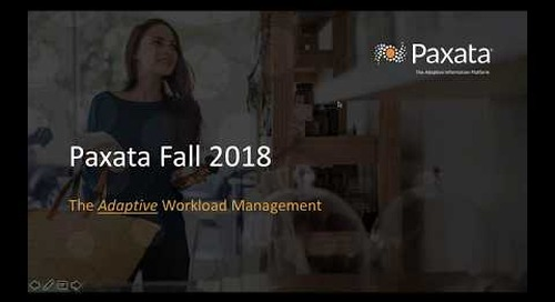 What's New: Paxata Fall 2018 Release