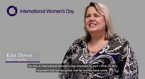 International Women's Day series- Kim Dover #BalanceforBetter