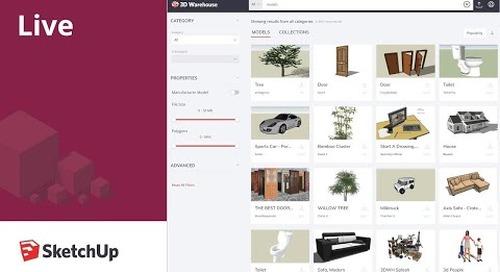 SketchUp live model: Cleaning Up 3D Warehouse Models