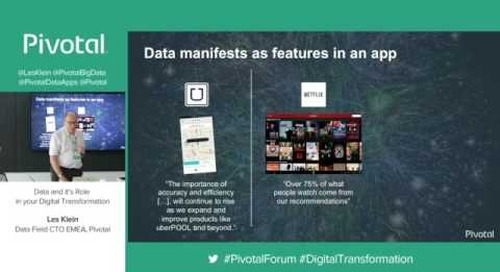 Data and it's Role in Your Digital Transformation