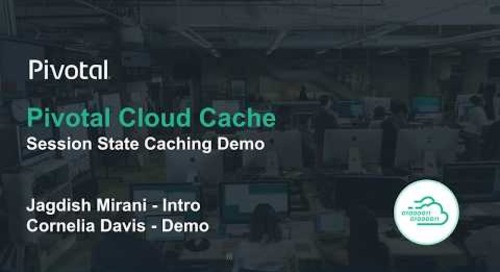 Pivotal Cloud Cache Demo - Session State Caching
