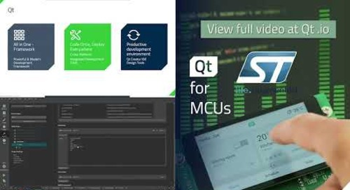 Ultimate Graphical Performance on STM32 microcontrollers with Qt for MCUs - Teaser