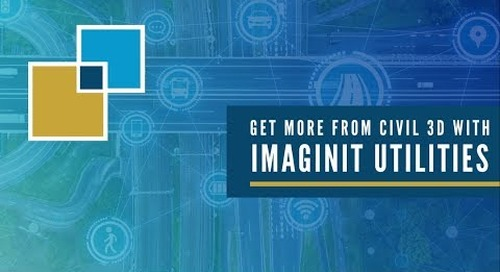 Get more from Civil 3D with IMAGINiT Utilities