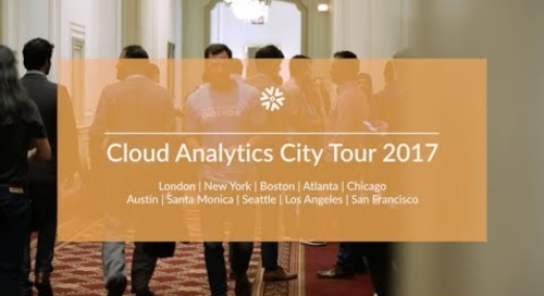 Cloud Analytics City Tour 2017