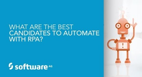 Episode 5: What are the best candidates to automate with RPA?