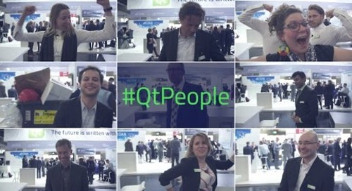 Wanna work with #QtPeople at The Qt Company?