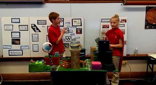 Future City- a culminating project for Montini's Engineering Program