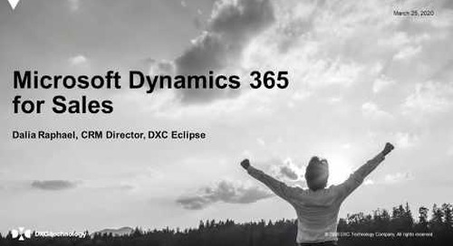 Microsoft Dynamics 365 for Sales - Latest Features