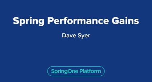 Spring Performance Gains