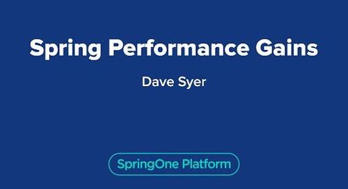 Spring Performance Gains