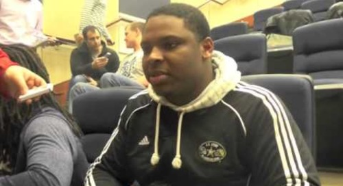 Interview with Notre Dame DT Jarron Jones