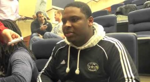 Interview with Notre Dame DT Jarron Jones