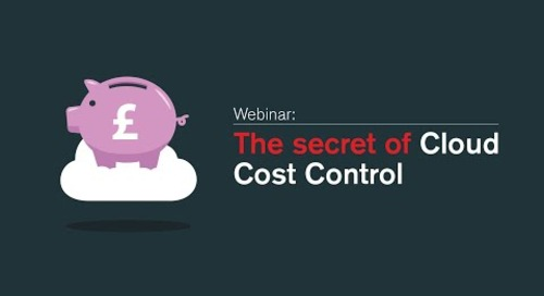 The Secret of Cloud Cost Control