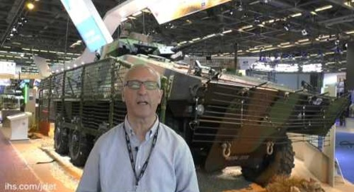 Eurosatory 2016: VCBI French infantry fighting vehicle of the French Army