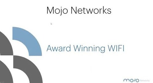 Mojo Networks - Award Winning WiFi