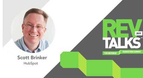 The New Rules of Marketing Operations & Technology | Scott Brinker at REVTalks 2019
