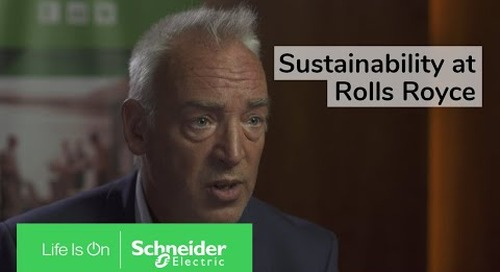 Driving Sustainability and Efficiency at Rolls Royce | Schneider Electric
