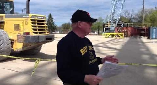 Sturgeon Bay Rotary Shipyard Tour 2012