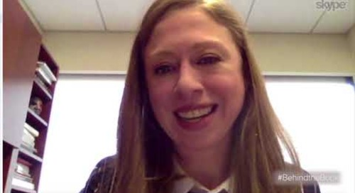 Behind The Book-Chelsea Clinton