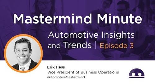Episode 3: Service Drive Opportunities, World Economic Forum & Electrification