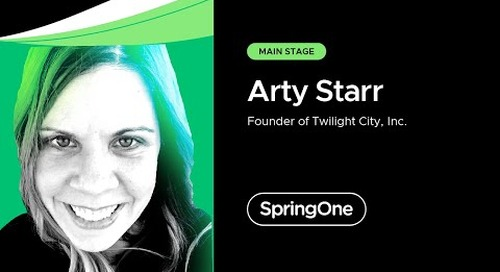 Arty Starr at SpringOne 2021