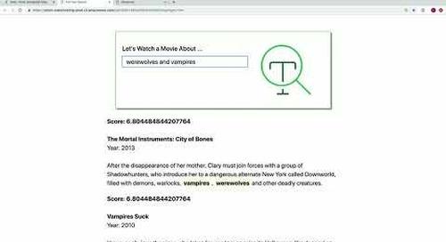 Introducing MongoDB Atlas Full Text Search (MongoDB World 2019 Keynote, part 1)