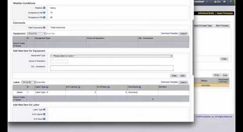 e-Builder: Process Consistency Through Workflow Management