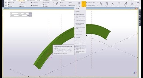 Point Tools in Tekla Structures