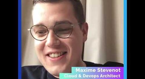 #SuperGeek Maxime Stevenot from France