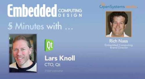 Five Minutes with Lars Knoll, CTO, Qt
