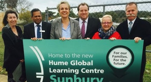 Hume Global Learning Centre Sunbury - Funding Commitment June 2016