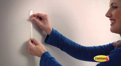 Decorate with Command™ Clear Hooks