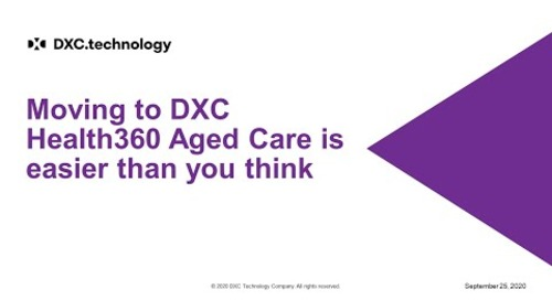 DXC Health360 Aged Care demo