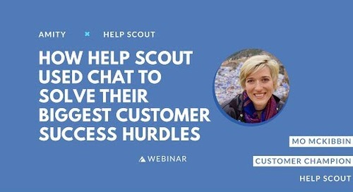 How Help Scout Used Chat to Solve Their Biggest Customer Success Hurdles