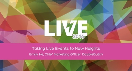 Taking Events to New Heights with DoubleDutch CMO Emily He