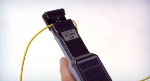 Measuring with the AFL Optical Fiber Identifier (OFI-BIPM)