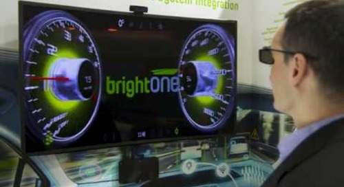 BrightONE 3D HUD for Automotive Built with Qt {showcase}