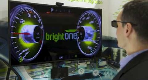 BrightONE 3D HUD for Automotive Built with Qt {showcase}